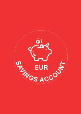 EUR SAVINGS ACCOUNTS