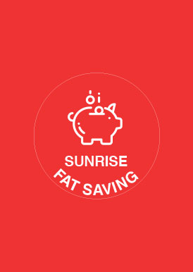 SUNRISE FAT SAVING ACCOUNT
